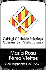 Logo colegio psicólogos valencia
